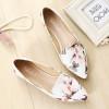 2018 women Casual shoes Tide wild flowers soft bottom flats large size women's shoes B112
