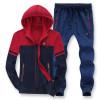 Men's casual sportswear fat big size 8XL hooded tracksuit cotton sweater plus size men sets oversize 7XL