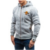 Hoodies Men 2017 Brand Male Hoodie Sweatshirt Mens Zipper Moletom Masculino Hoodies Slim Tracksuit Large Size XXL