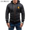 2017 Envmenst Hoodies Men Brand Male Hooded Sweatshirt Mens Zipper Moletom Masculino Hoodie Slim Tracksuit Large Size XXL
