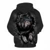 Mountain Wolf Hoodies 3D Men Hoodie Brand Sweatshirt Hooded Pullover Cool Animal Print Tracksuits Unisex 6XL Outwear Boy Jakcet