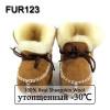 FUR123 Winter Baby Shoes Boots Infants Warm Shoes Fur Wool Girls Baby Booties Sheepskin Genuine Leather Boy Baby Boots