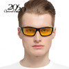 20/20 New Night Vision Sunglasses Men Brand Designer Fashion Polarized Night Driving Enhanced Light anti-glare Glasses PL295