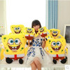 sponge bob 30cm spongebob plush toy soft anime cosplay doll for kids toys cartoon figure cushion home decoration cute dolls toy