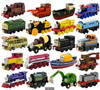 Locomotive Diecast Metal Train Toys Educational Model DIY Mini Toy Magnetic Models Stephen MAC Hank For Kids Children Gifts