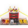 New Multi-functional Mini Parking Lot Car Toy Drawer Kids Toys Storage Box Case Boys Novelty Gifts Children Party Games
