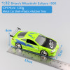 1:32 Scale jada Brian's Mitsubishi Eclipse Turbo 1995 FAST and FURIOUS metal diecast models racing cars toys for baby boys gifts