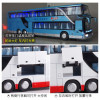 1:32 High Simulation Double Sightseeing Bus Model Toy Cars Alloy Flashing Sound Vehicle Toys for kids children