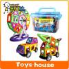 100pcs 64pcs Big size Magnetic building blocks construction magnetic Designer toys model build kits toys for children magnet