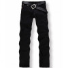 Hot Sale Four Season Men Jeans, Slim Straight Pants Black Color Brand Cotton Jeans Mens,dmya33055