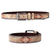 2017 Women Fashion Belts Cinturones Mujer Ladies Faux Leather Pin Buckle Embroidery Straps Girls Unisex Fashion Accessories 43
