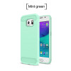 Nephy Luxury Cell Phone Case for Samsung galaxy S6 S7 Edge S8 S9 Plus Note 8 Grand Prime S6edge S7edge Soft Carbon fiber Cover