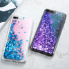 Bling Liquid Quicksand Phone Case For iPhone XS Max XR X 8 7 Plus Shiny Sequin Glitter Case Cover For iPhone 5 5S SE 6 6S 7 Plus