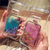 Hot Girl Pink Glitter Bling Perfume Bottle Dynamic Liquid Quicksand Phone Cases For iphone 8 7 plus 6S 6 X XS Max XR Cover Case