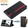 Nubia M2 Lite Case Cover For ZTE Nubia M2 Flip Case Leather Silicone Cover For Nubia M2 M2Lite With Card Slot Holder