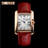 SKMEI Brand Elegant Retro Watches Women Fashion Luxury Quartz Watch Clock Woman Female Casual Leather Strap Women's Wristwatches