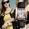 Watch Women Elegant Retro Watches Fashion Casual Brand Luxury Women's Quartz Clock Female Leather Lady Ladies Wrist Watches