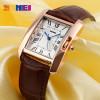 SKMEI Brand Women Fashion Casual Quartz Watch Elegant Retro Lady Watches Female Leather Strap Relogio Feminino Wristwatches 1085