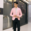Fashion Blazer Men 2018 New Spring Autumn Clothing Candy Colors Blazer masculino Casual Slim Fit Wild terno Men's Suit Jacket
