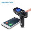 ANLUD Bluetooth Wireless Car Mp3 Player Handsfree Car Kit FM Transmitter A2DP 5V 2.1A USB Charger LCD Display Car FM Modulator
