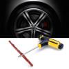 Car Bike Auto Tire Repair Kit Tyre Puncture Plug Tool Tubeless Repairing Tools Set Vacuum Tires Patch Professional Accessories