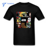 2017 Summer 100% Cotton Men Star Wars T Shirts Adult Cheap Sale Short Sleeved T-shirt Multi-color Male Cotton Tee Shirt