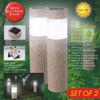 Outdoor Waterproof Lighting Cordless Solar Powered LED Garden Lights Light-operated Sand Blast Lamp