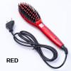 2018 New Style Professional Electric Hair Straightener Comb Hair Brush Straightening Irons Hair Brush EU/ US/ UK/AU Plug