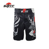 SOTF mma shorts boxing muay thai boxing trunks tiger muay thai kickboxing fight wear guan yu China's wind SOTF mma pretorian