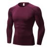 Yuerlian Dry Soccer Jerseys Compression Fitness Tights Gym Sportswear Basketball Men Shirt Bodybuilding Rashgard T-Shirt