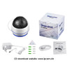 OwlCat HD 1080P Dome PTZ IP Camera Wifi 5X Optical Zoom Audio/Microphone Security CCTV Wifi Camera SD Slot IR Night Onvif2.4 P2P