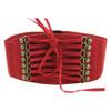 Hot Brand New Designer Women Ladies Strap Buckle Cinch Belts Corset Stretch Skinny Waistband High Waist Slimming Waist Belts Z1