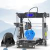 2017 New tronxy P802E Full models 3D Printer Kits Extrusion DIY kit 3d printing Hotbed 1 roll PLA Filament 8GB SD card