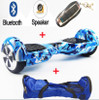 Self Balance Scooter Hoverboard Two Wheel 6.5 Inch Electric Scooter with lights Bluetooth Speaker Carry Bag