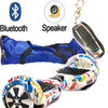 Self Balance Scooters Hoverboard Two Wheel 6.5 Inch Electric Scooter with Bluetooth Speeker Carry Bag