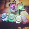 Luminous LED Sport Watches Women Quartz Watch ladies Women Silicone Wristwatches glowing