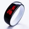 Fashion 2017 lady gift LED Watch , Oval red light display women wristwatch , creative pretty fashion digital Bracelet watches