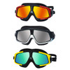 Water Sports Swimming Glasses Anti-Fog Goggle with Big Frame Lenses Colorful Electroplated Goggles with UV Protection Goggle