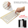 Ultra Slim Wireless Keyboard Portable Mouse Keyboard Set For Mac/Notebook/TV Box/PC 2.4G Russian keyboard for IOS Android Win 10