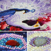 DIY 5D Sale Diamond Embroidery, Diamond Mosaic, Blue And White Peacock, Special Shaped, Diamond Painting, Cross Stitch,3D, Decor