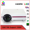 Cheap 3d ready 3500lumens high quality multimedia video projector,portable 1280*768 pixels HD 1080p LED home theater projector