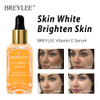 Breylee Serum Series Hyaluronic Acid Vitamin C Whitening Face Skin Care Rose Nourish 24k Gold Firm Soothing Repair Essence 1pcs