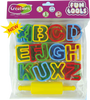 Funtools tools toy art tools set for kids by Creations 24 Alphabetic Moulds