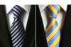 RBOCOTT Fashion Plaid Tie Men's Striped Ties 8 cm Necktie Black Neck Tie For Formal Business Groom Wedding Party Accessory