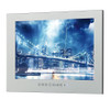 22inch Free Shipping HDMI IP66 Magic Mirror TV Frameless Vanishing Hotel Waterproof TV