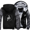 Jake Paul Thicken Hoodie Jake Paul Slogan Pullover Fleece Hoodie Jake Paulers Winter Warm Zipper Coat Hoodie Jake Paul Merch