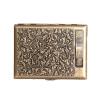 Retro Cigarette Case with Tungsten Wire Lighter Electronic USB Lighters Cigarette Box Metal Holder Cover for 20 PCS Cigarettes