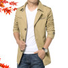 HCXY 2019 Spring Autumn Fashion Men's Windbreaker Men Jackets Slim Fit Outwear Jacket Coat Male Full cotton Free Shipping 5XL