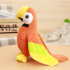 20/25cm Cute Plush Rio Macaw Parrot Plush Toy Stuffed Doll Bird Baby Kids Children Birthday Gift Home Shop Decor