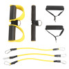 2 in 1 Resistance Bands Yoga Pilates Pedal Exerciser Chest Developer Home Fitness Latex Training Portable Accessories Crossfit
